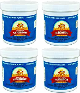 4 Pack (Save $19) Beat Your Neighbor Fertilizer - Makes 360+ gallons