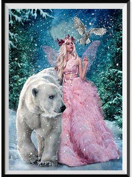 5D Diamante Pinturas Animales pavo Real Bordado de Diamantes de Imitación hágalo usted mismo Pintura Paisaje