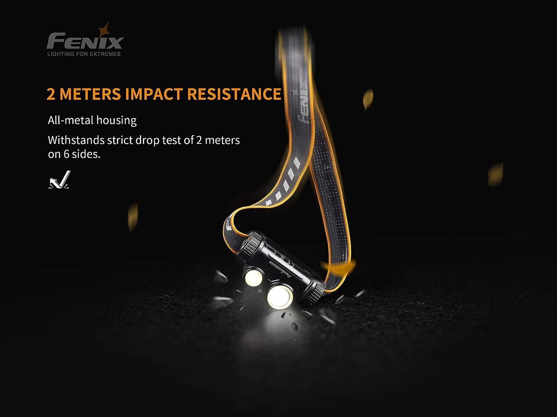 With Battery New Fenix HM65R USB Charge 1400 Lumens LED Headlight Headlamp