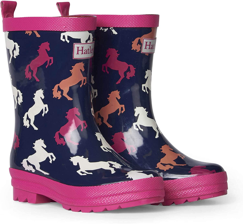 Hatley Girls' Printed Rain Boots Raincoat