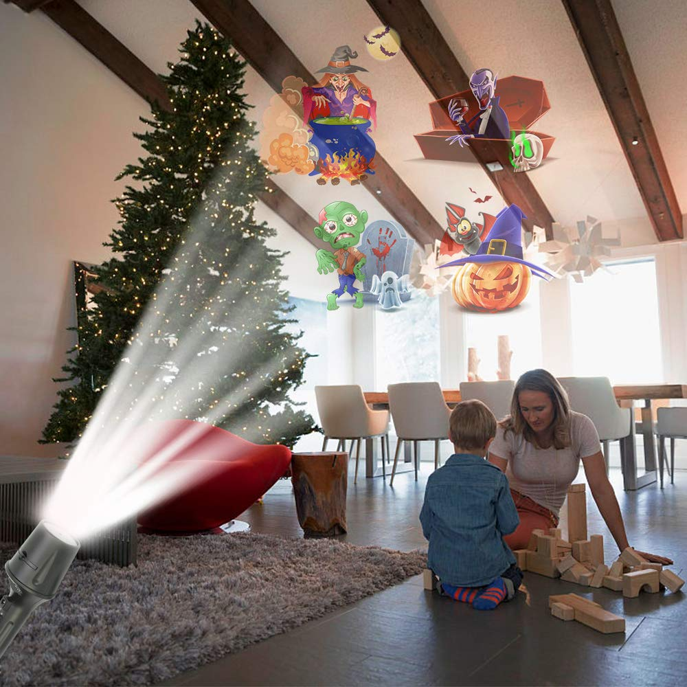 Elec3 Christmas Halloween Projector Light for Lighting Decorations (5W Projection Flashlight) by Elec3 (Image #4)