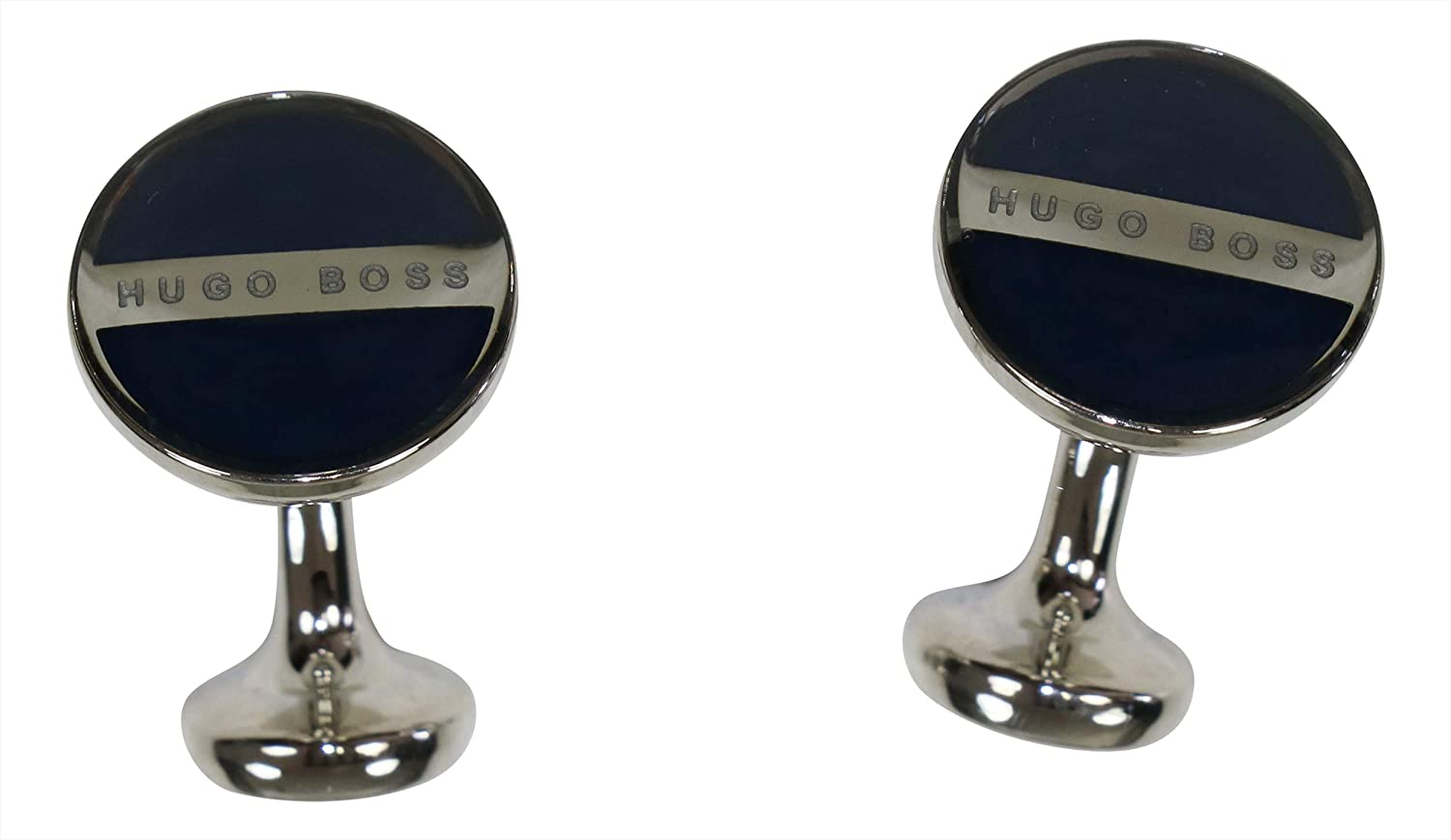 Hugo Boss Horberto Logo Cufflinks One Size) 5027414941000