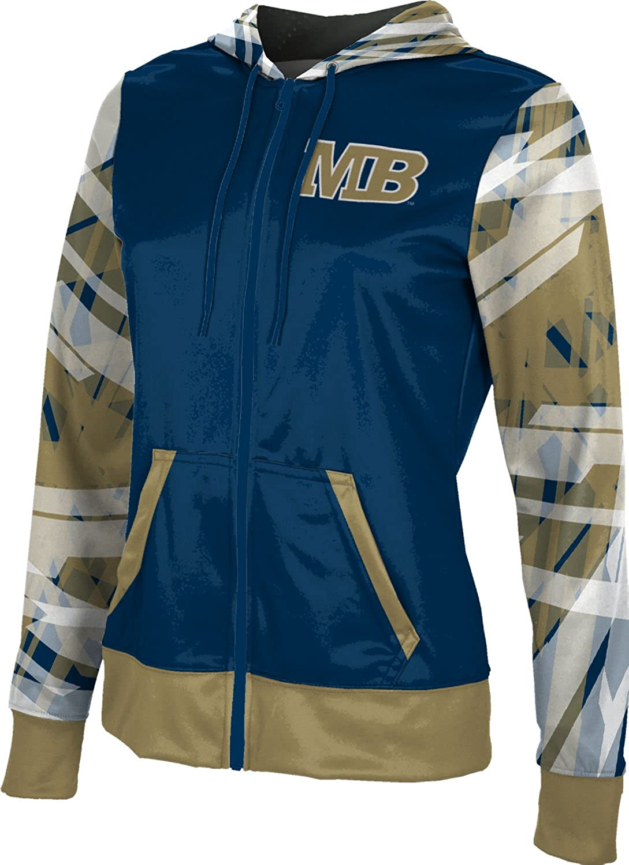 School Spirit Sweatshirt California State University Monterey Bay Girls Zipper Hoodie Crisscross