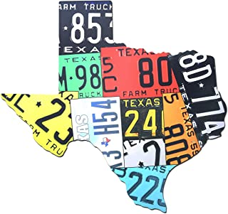 product image for Surf To Summit Plasma Cut Aluminum Texas License Plate Map Sign Metal Sign Home Decor Wall Art Garage Art Great Gift Man Cave Plasma Cut UV Printed Rustic Sign Birthday Gift Texan