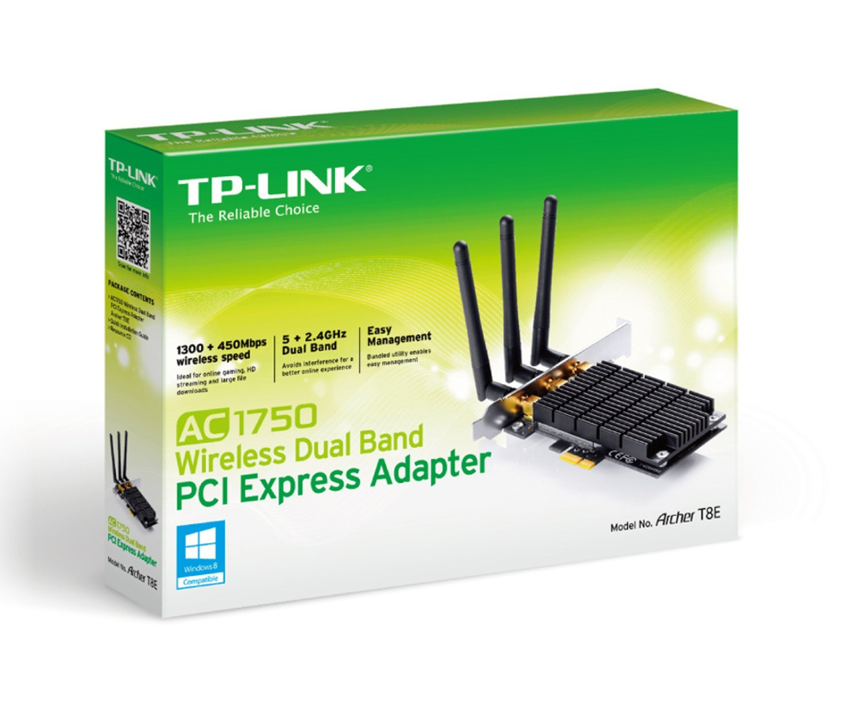 Amazon com: TP-LINK Archer T8E AC1750 Dual Band Wireless PCI