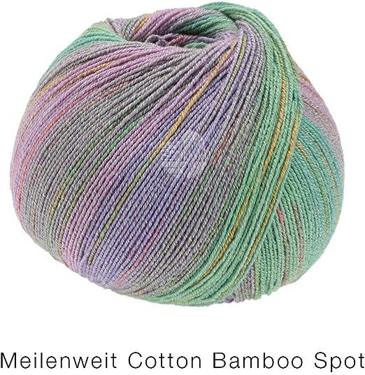Lana Grossa 2358 100 g Wolle Kreativ Fb Meilenweit 100 Cotton Bamboo Spot