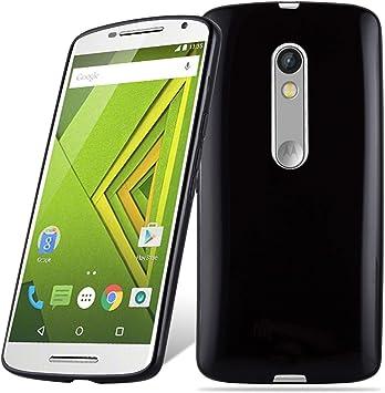 Cadorabo Funda para Motorola Moto G3 en Negro – Cubierta ...
