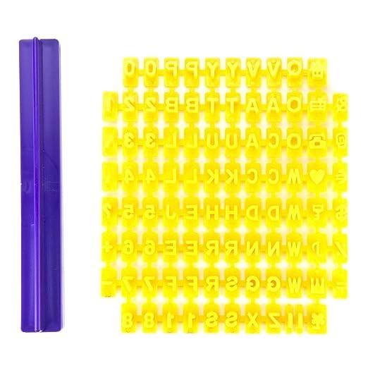 1 opinioni per DRFUNDA Stampini con Lettere e numeri per le decorazioni in pasta di zucchero e