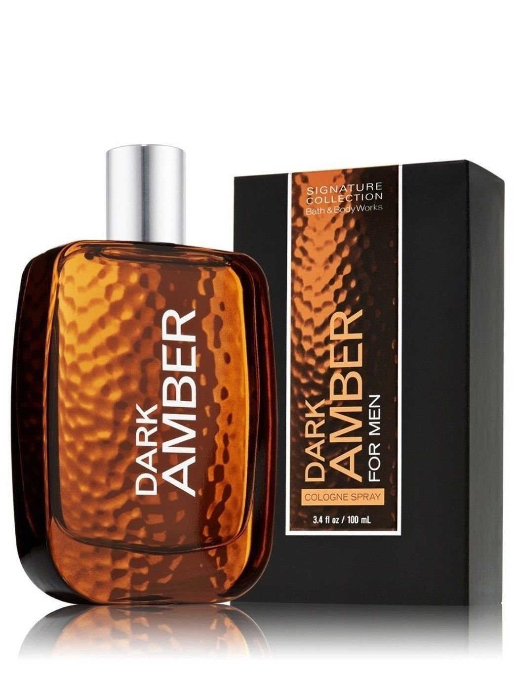 Dark Amber by Bath Body Works for Men 3.4 oz Cologne Spray Bath & Body Works Dark Amber Cologne
