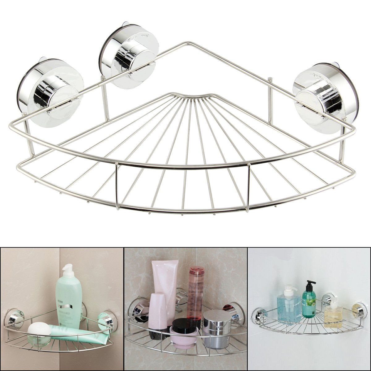 wire co kitchen bathroom white caddy home hanging dish shower storage bath dp rack uk amazon laminated soap