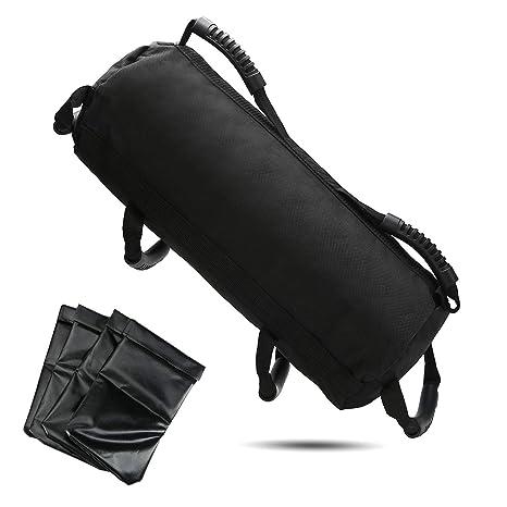 f109eaca3591 Pellor Fitness Weights Sandbags Training Exercise Yoga Heavy Duty Workout  Gym Sandbag Equipment Adjustable Filler Sand
