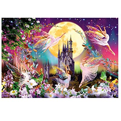 Diy Jigsaws Puzzle For Adults 1000 Piece Animal Pattern Picture Home Game: Clothing