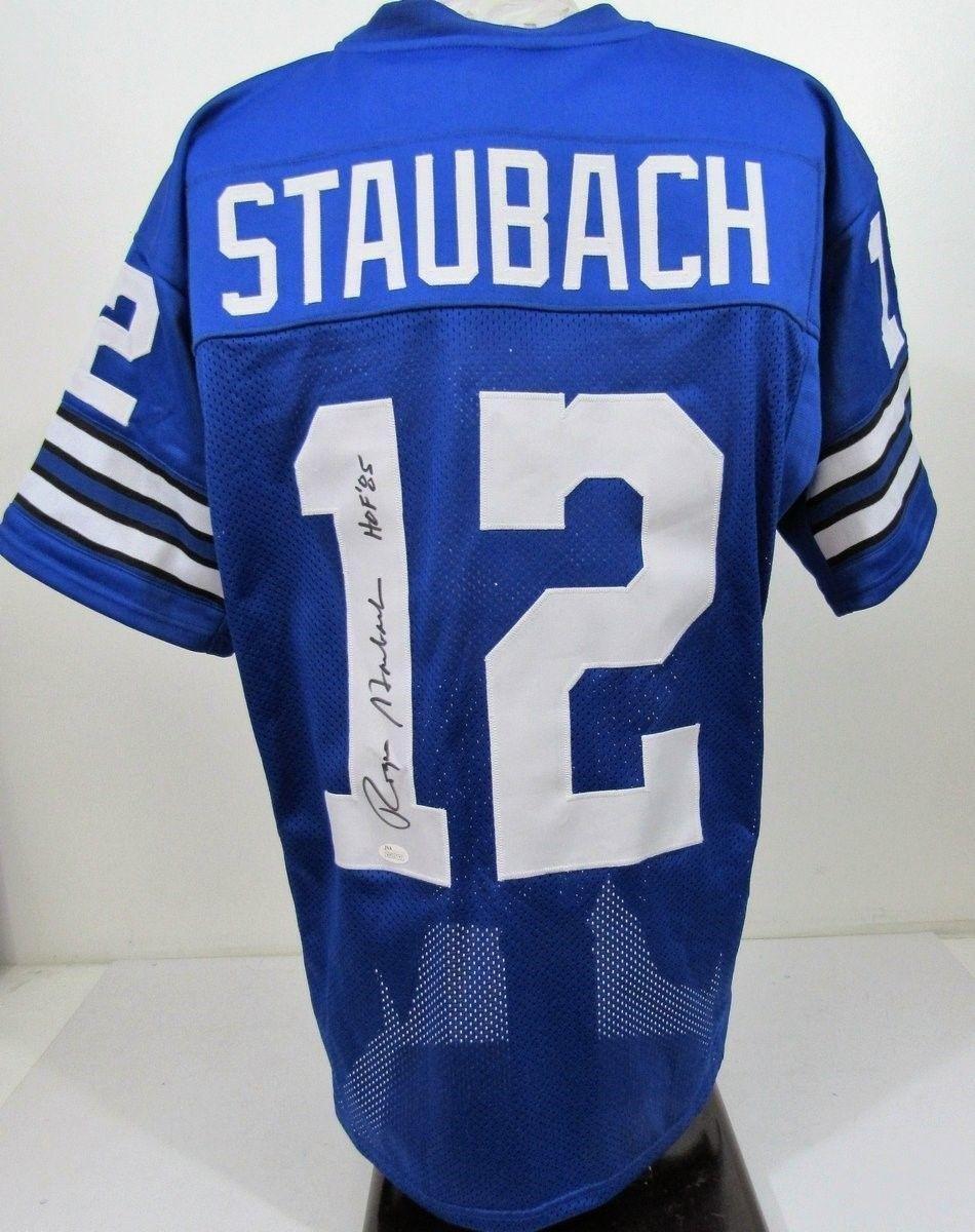 838393c5e86 Amazon.com  Autographed Roger Staubach Jersey - WP317743 - JSA Certified -  Autographed NFL Jerseys  Sports Collectibles