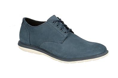 CLARKS Glaston Walk - 133904 - Color Navy Blue - Size: 8.0