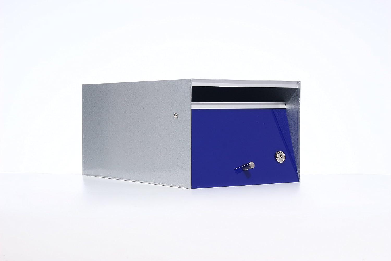 Box Design ポスト 郵便受け Urban Blue B00W6HVQLW 28620 Blue Blue