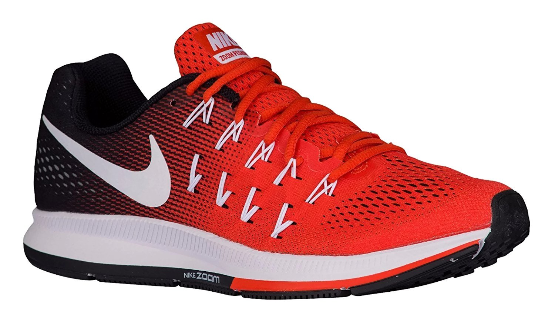 Nike Men's Air Zoom Pegasus 33 B073NGG9P3 13 D(M) US Team Orange/White-black-pure Platnum