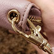 WOZEAH Womens RFID Blocking PU Leather Zip Around Wallet Clutch Large Travel Purse
