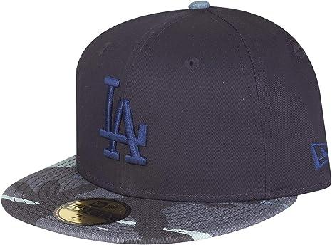 Colore Navy Mimetico Berretto Los Angeles Dodgers New Era 59Fifty