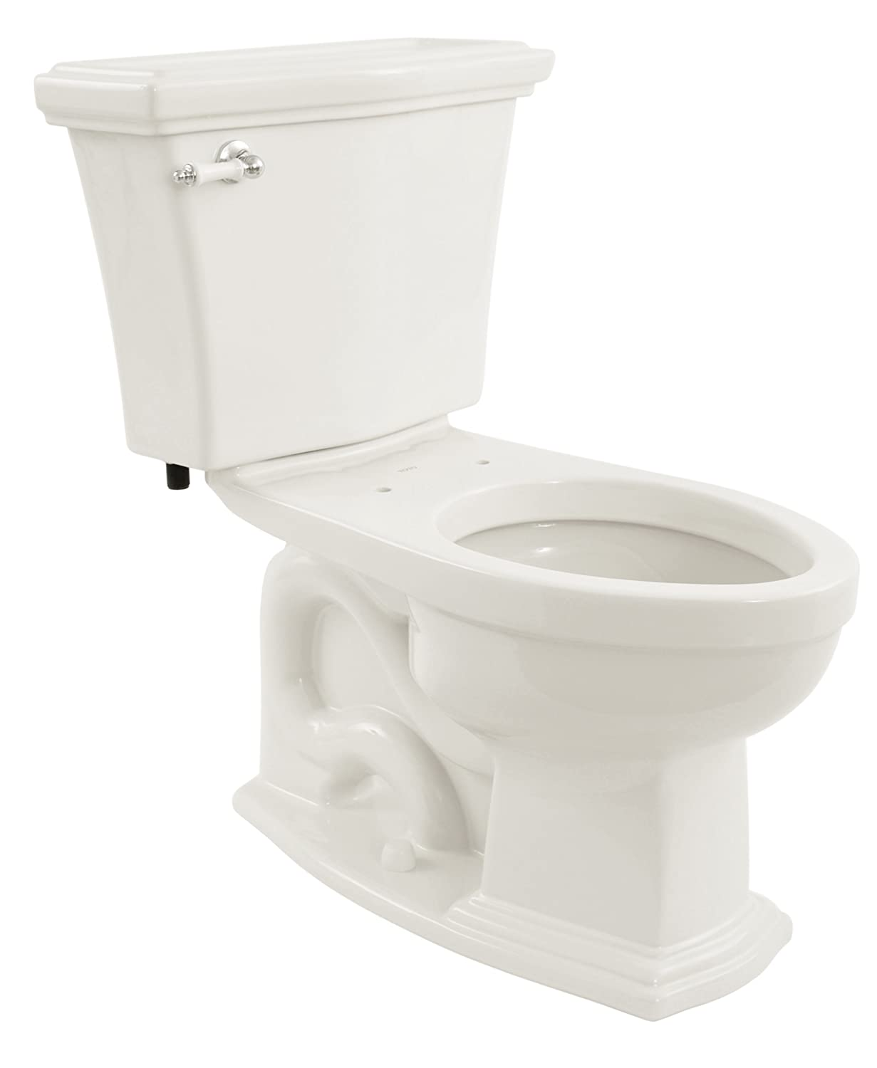 TOTO CST784SF#01 Clayton Elongated Bowl and Tank, Cotton White ...