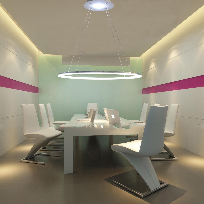 LED Ring Pendelleuchte Modernes Design für Wohnzimmer: Amazon.de ...