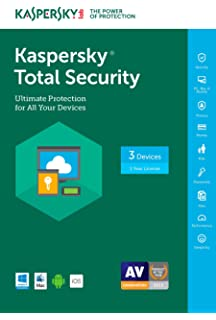 Amazon com: Kaspersky Total Security   5 Devices   1 Year