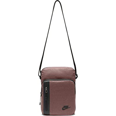 d3b4352302d Nike NK TECH SMALL ITEMS, Unisex Adults  Messenger Bag, Multicolour (Red  Sepia
