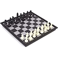 Ratna's Black White Magnetic Chess Set Premium Quality Chess Set