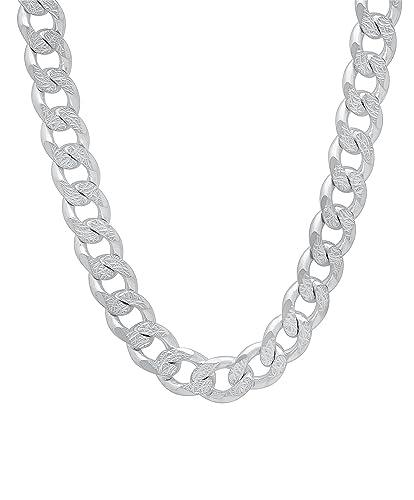Uhren & Schmuck Halsketten & Anhänger Panzerkette 15 Mm Massiv Echt 925 Sterlingsilber Hochglanzpoliert Halskette