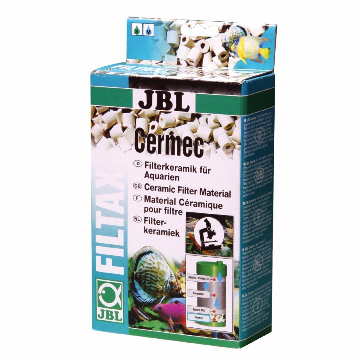 JBL Cermec, Petits tubes filtrants en céramique pour filtre d'aquarium 62387