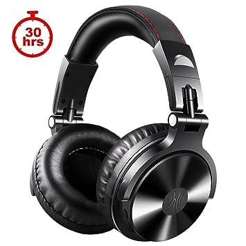 oneodio 4.1 Bluetooth Auriculares, Inalámbrico & over Ear Headset con micrófono & Dual Controladores de