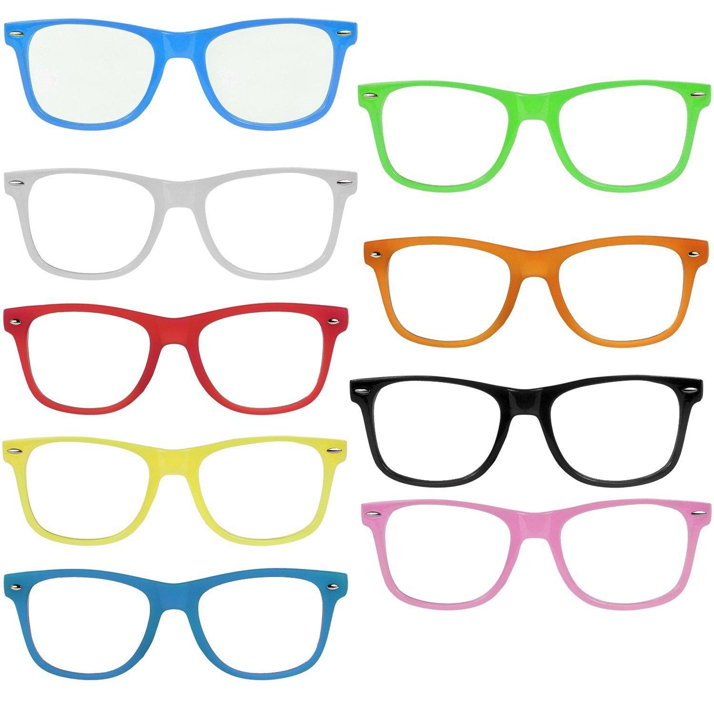 Partybrille Spaßbrille Party Brille für Fasching Karneval Spassbrille Biergläser