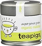 teapigs Organic Matcha Tea Tin, 30 Gram