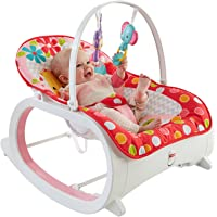 Fitch Baby Infant to Toddler Rocker Bouncer (Deluxe Infant to Toddler Rocker Recline with Vibration and Music)