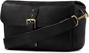 MegaGear Genuine Leather Camera Messenger Bag Mirrorless Camera bags and cases