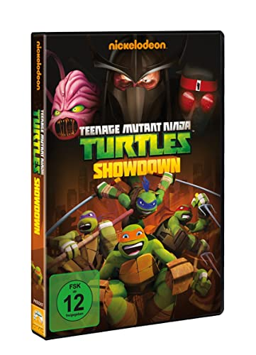 Teenage Mutant Ninja Turtles - Showdown Alemania DVD: Amazon ...