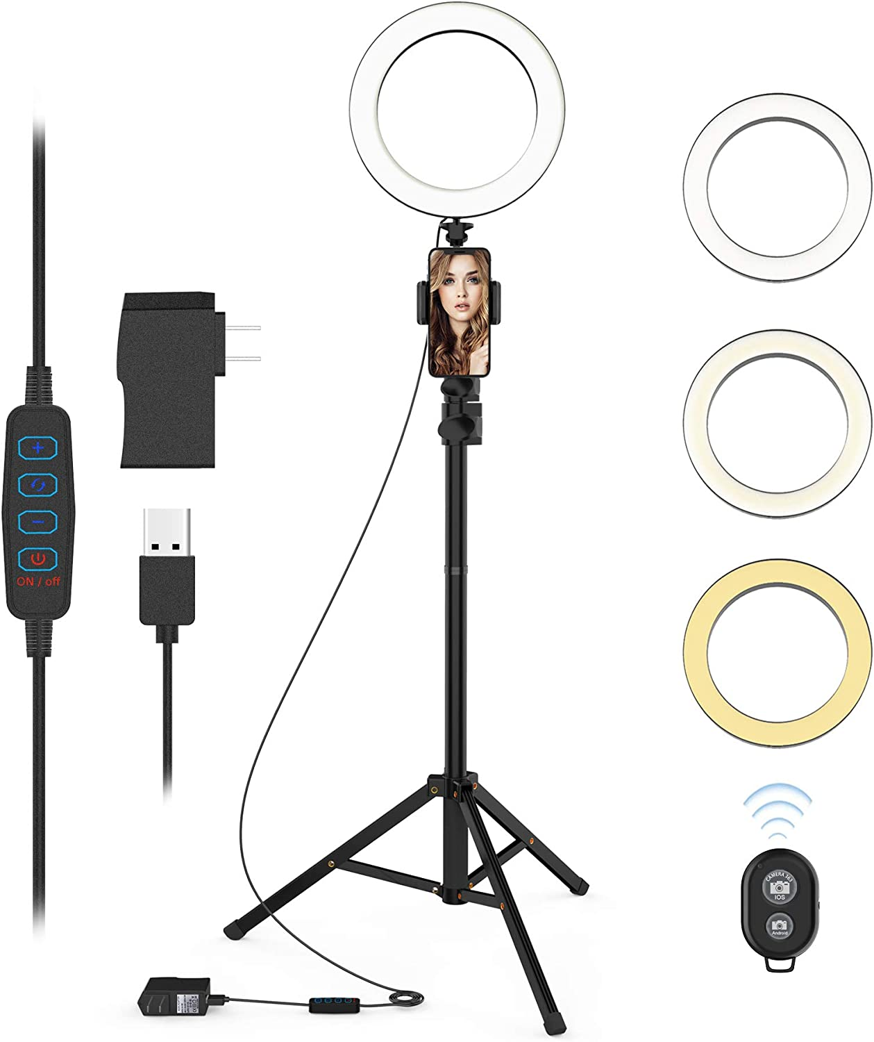 Circle Lighting Ringlights for Makeup Video Photography Blogging Portrait