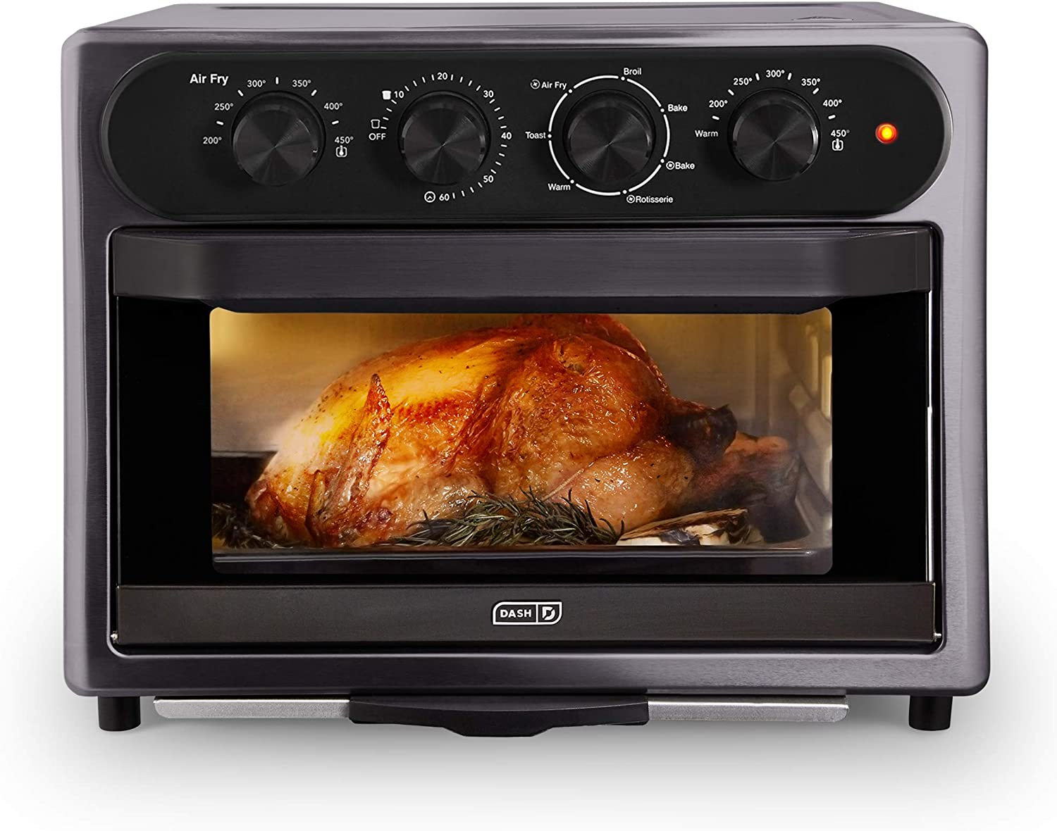Deals on DASH DAFT2350GBGT01 Chef Series Air Fry Oven, 23L