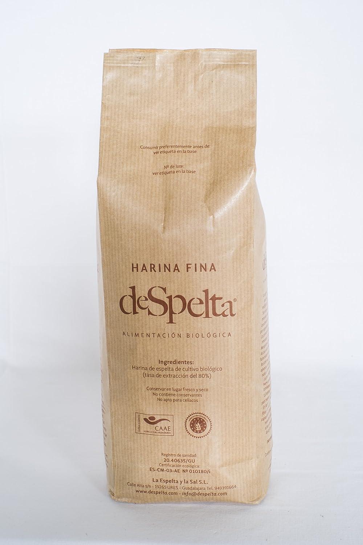 DeSpelta Harina Fina de Espelta Ecológica 1Kg: Amazon.es: Alimentación y bebidas