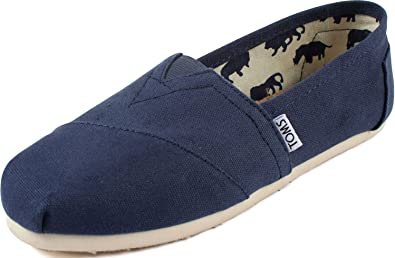 Classic Canvas Navy Slip-on Shoe