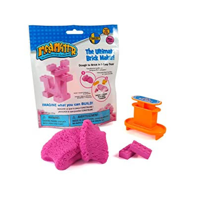 MAD MATTR The Ultimate Brick Maker by Relevant Play, (Pink, 2oz): Toys & Games