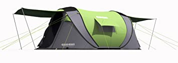 Huge Cinch 1 2 3 or 4 Man Lightweight Pop Up Tent With 2 Entrances  sc 1 st  Amazon UK & Huge Cinch 1 2 3 or 4 Man Lightweight Pop Up Tent With 2 Entrances ...