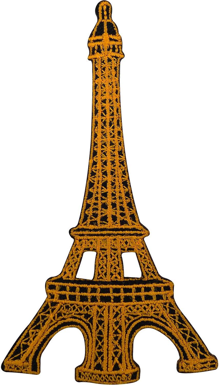 Torre Eiffel Badge bordado parche de hierro/sew en francés París ...