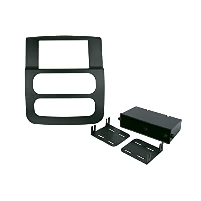 SCOSCHE CR1299DDB 2002 to 2005 Dodge Ram Double DIN Stereo in-Dash Installation Kit: Car Electronics