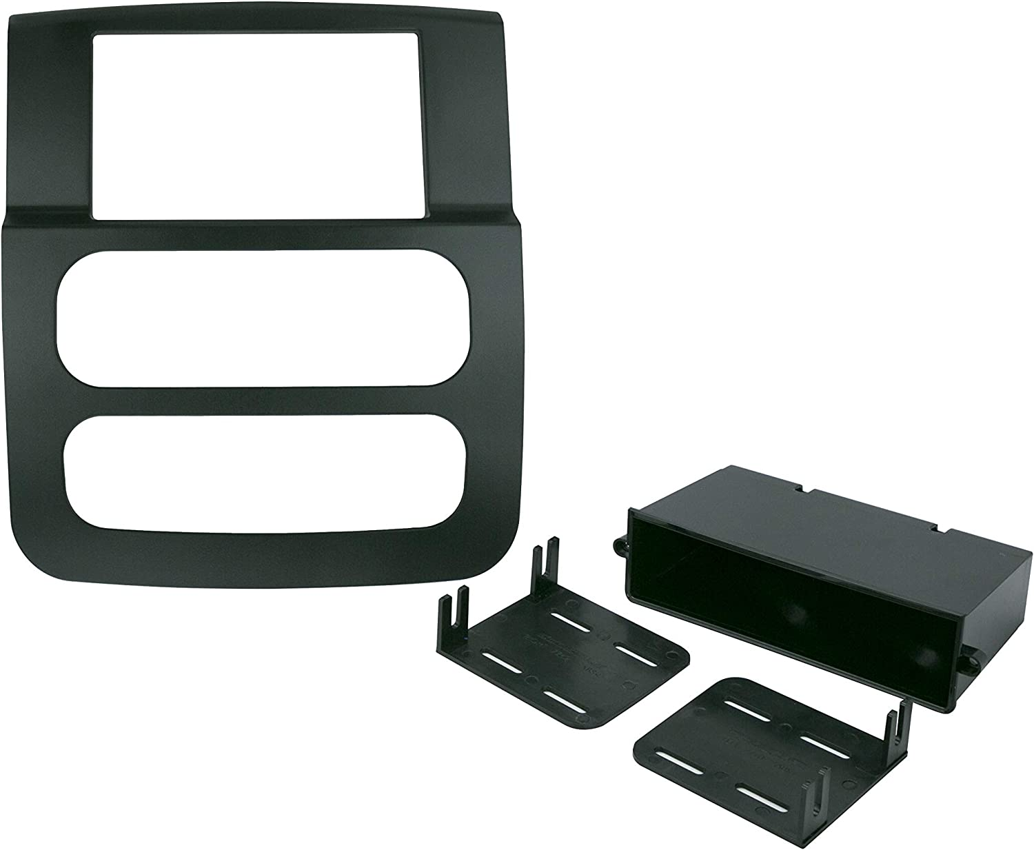 SCOSCHE CR1299DDB 2002 to 2005 Dodge Ram Double DIN Stereo in-Dash Installation Kit