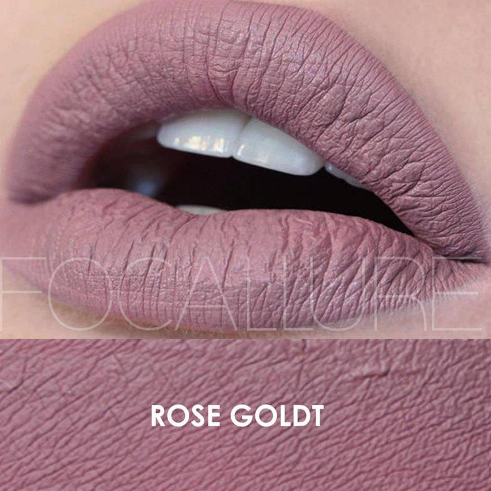 Urparcel Femme Rouge ¨¤ l¨¨vre Lustre ¨¤ l¨¨vre matte Glosse ¨¤ l¨¨vre longue dur¨¦e maquillage beaut¨¦ Waterproof FA 24 15#