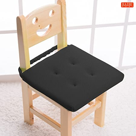 Baibu Kidsu0027 Chair Pads Super Breathable And Portable Sandwich Mesh Fabric  Square Seat Cushion With