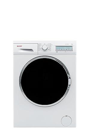 Sharp ES FC7144W3 DE Waschmaschine FL A 162 KWh Jahr 1400 UpM 7 Kg Frontlader Energiesparend Praktisch Und Mit Exzellentem Design Weiss