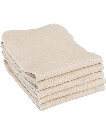 9f7a99998b9b6b Earthtopia 5er Set Waschbare Windeleinlagen aus Hanf und Baumwolle