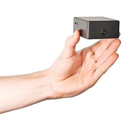 Mini Funciona Con Pilas Wi-Fi Cámara Espía Video Grabadora 720p HD Micro Sd
