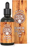 BEST DEAL Beard Oil Conditioner - All Natural Cedarwood & Pine Scent with Organic Argan & Jojoba Oils - Softens & Strengthens Beards and Mustaches for Men …